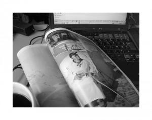 Le Monde Magazine,  la page des photos de Eric Franceschi au Col de La Bonette